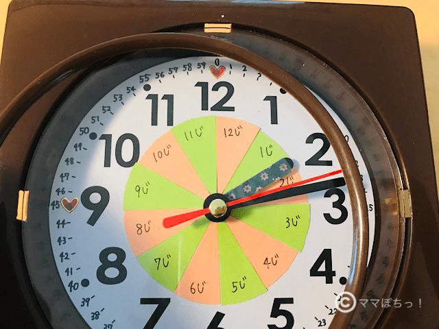 100均(セリア)の時計を分解している写真です。