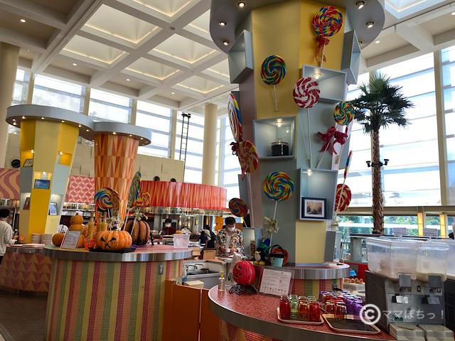 シェラトングランデトーキョーベイホテル「グランカフェ」の写真です。