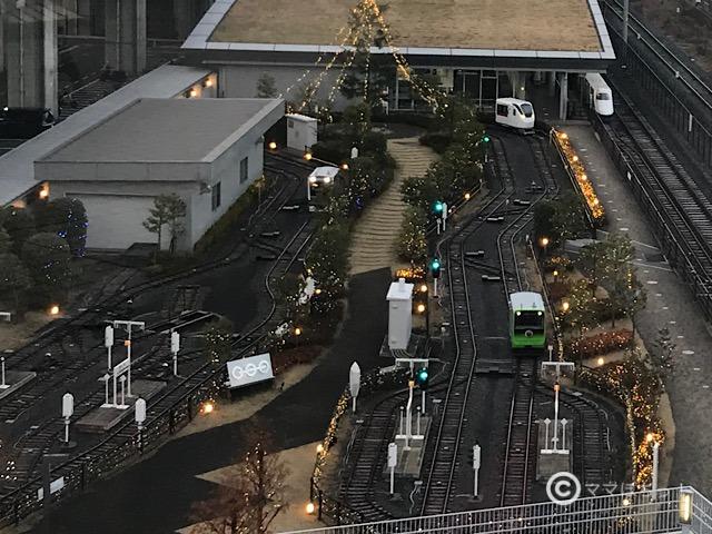 鉄道博物館のイルミネーションの写真です。