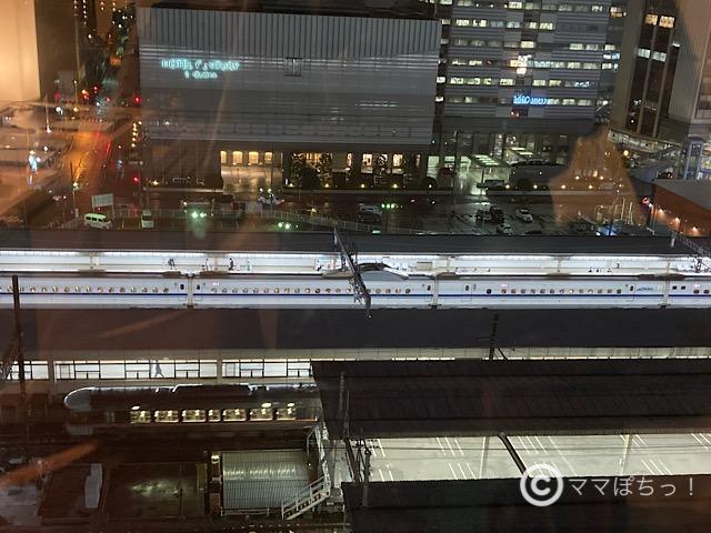 ホテルアソシア静岡のトレインビューの写真です。