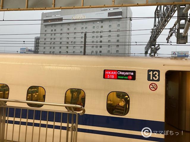 静岡駅から見たホテルアソシア静岡の写真です。