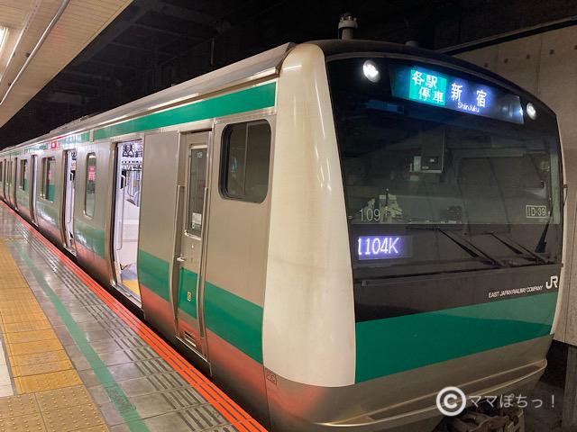 E233系埼京線の写真です。