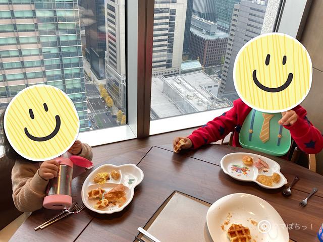 ホテルメトロポリタン丸の内の朝食の写真です。