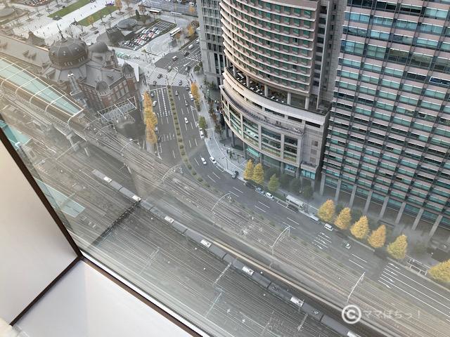 ホテルメトロポリタン丸の内、「エグゼクティブコーナーツイン」のビューバスの写真です。