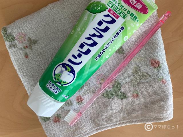 歯磨き粉(クリアクリーン)の写真です。